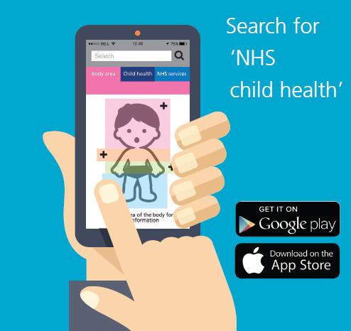 NHS Child Health App advert